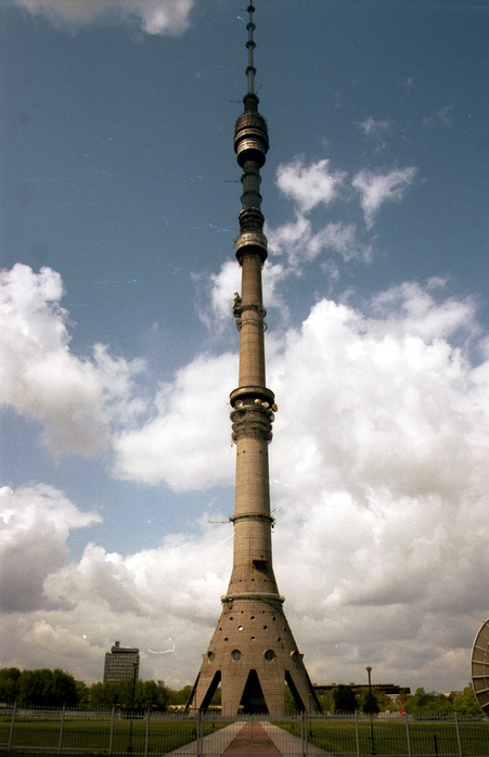 Останкинская башня + Красная